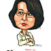 Ms Sylvia Lim caricature for EO Singapore