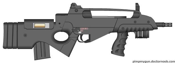 XM8 Shotgun | Bullpup ...