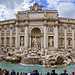 Fontana di Trevi, Rome, Italy.