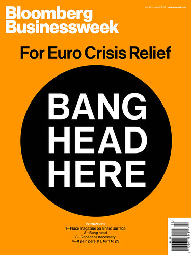Euro Crisis- BANG HEAD HERE | by bizweekdesign