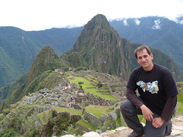 Sele en Machu Picchu (Perú)