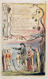 "William Blake. ""The Ecchoing Green."" 