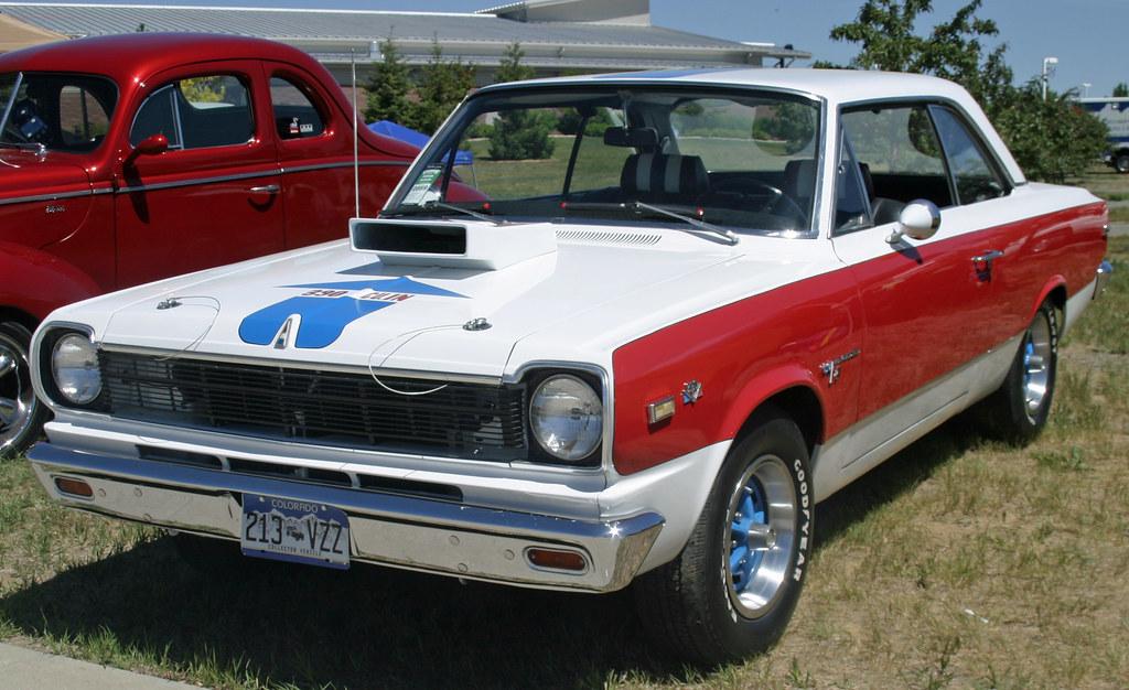 1969 American Motors Hurst Sc Rambler American Coconv