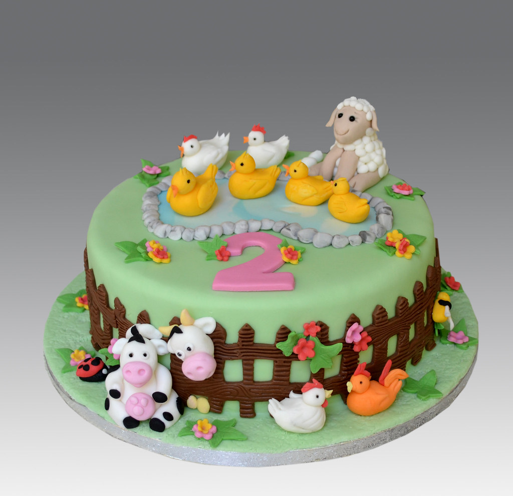 Animal Birthday Cakes Pinterest