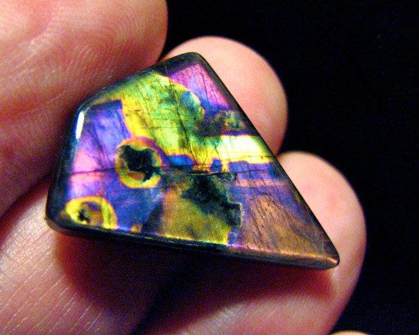Neon Finnish spectrolite