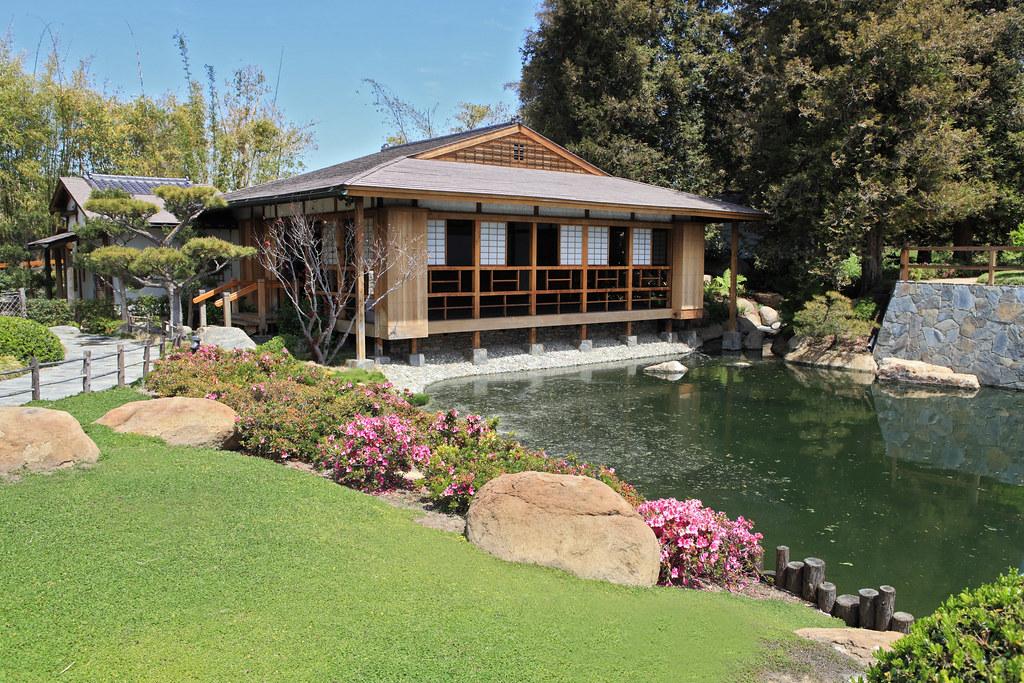 Tea House The Tea House The Japanese Garden In Van Nuys
