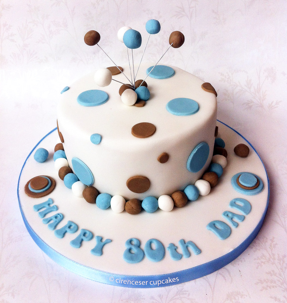 Birthday Cake - Dotty Dad A 6 inch birthday cake for a ...