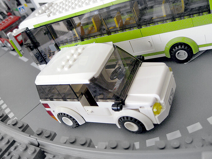 The Car Company >> White family car | With all Lego windows this time, but with… | Flickr