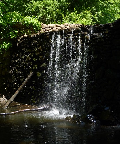 Waterfall at the Lake Surprise dam | by Dendroica cerulea