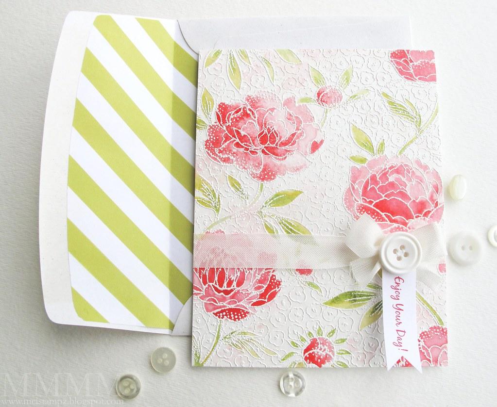 hero arts flower card mel stamps