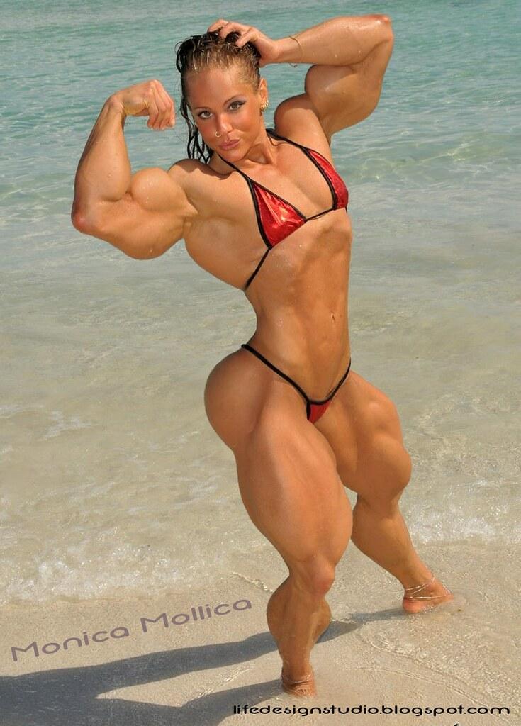 Monica Mowi Muscle Morph  Monica Mollica Muscle Morph -7517