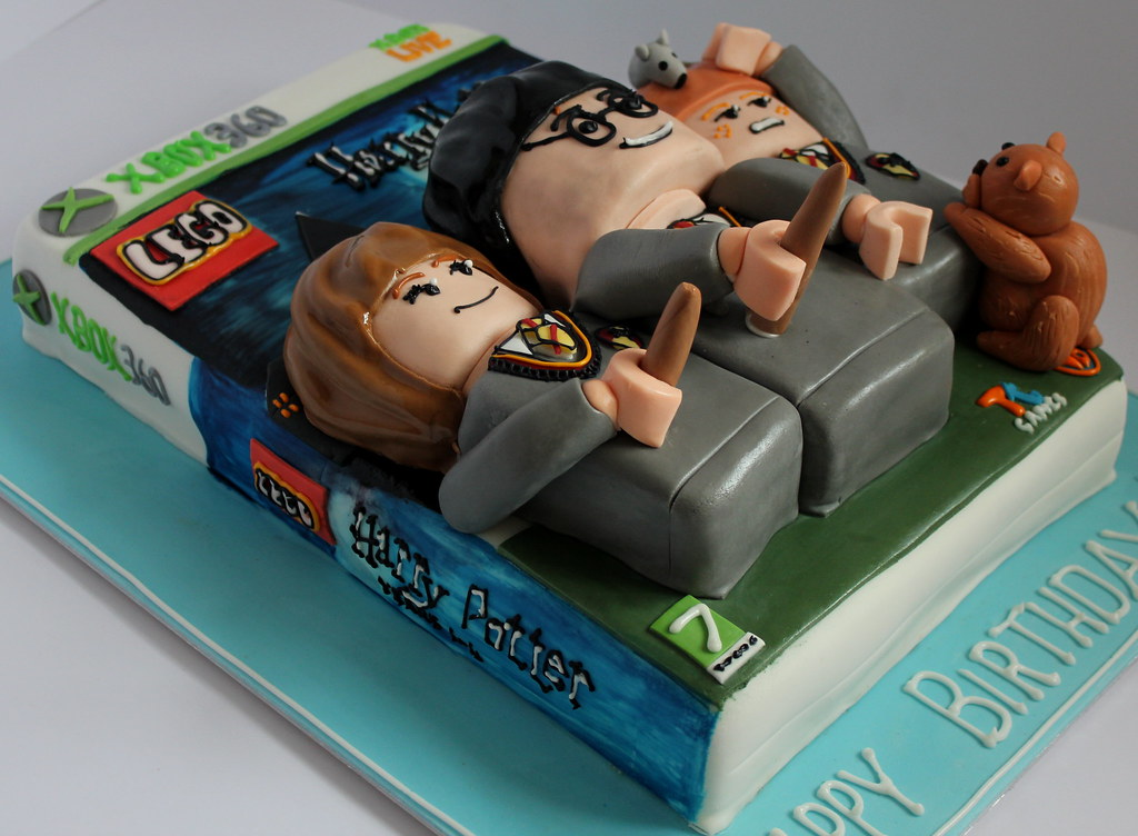 Harry Potter Lego Birthday Cake Pauls Creative Cakes