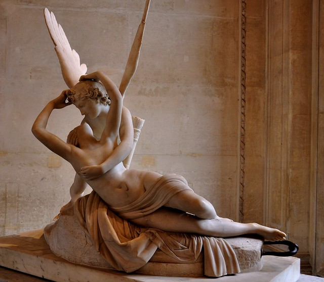 """""""Psyche Revived by Cupid's Kiss""""... Louvre Museum, Paris ..."""