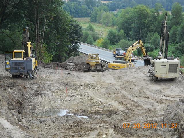 Rock Blasting Equipment : Sr rock blasting july crews use equipment