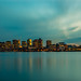 Boston Skyline Long Exposure