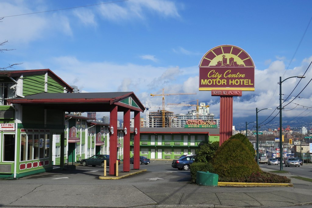 City centre motor hotel at main street east 6th avenue for City centre motor hotel