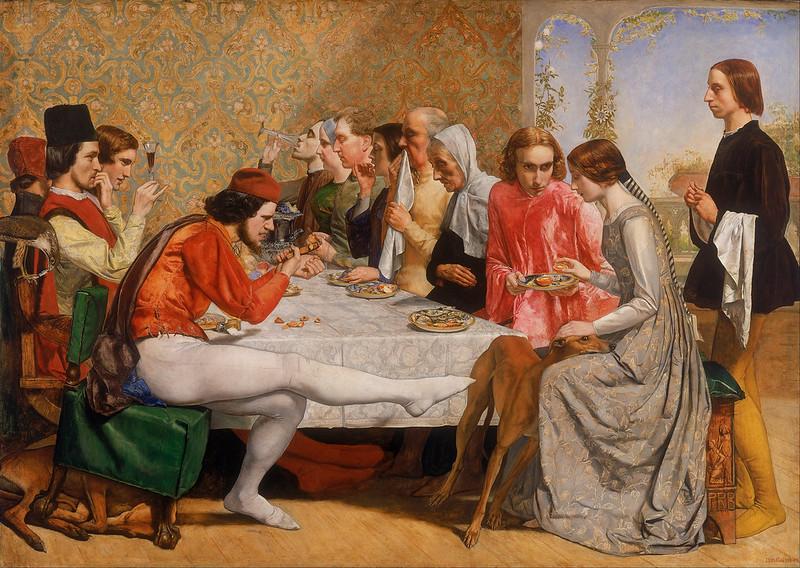 John Everett Millais - Isabella (1848)