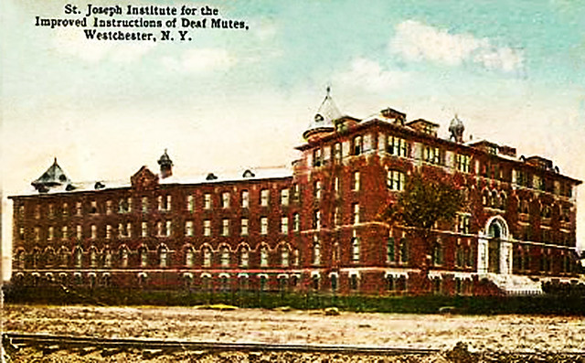 St Joseph Institute For The Improved Instruction Of Deaf Mutes Throggs Neck The Bronx New