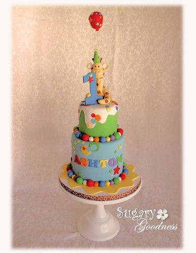 Giraffe 1st Birthday | by Sugary Goodness (Kim)