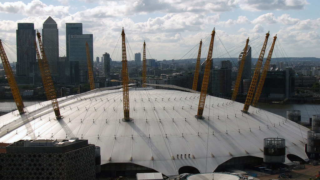 london 39 s north greenwich centre aka the o2 arena will be. Black Bedroom Furniture Sets. Home Design Ideas