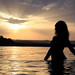 Sunset in Lago di Bolsena