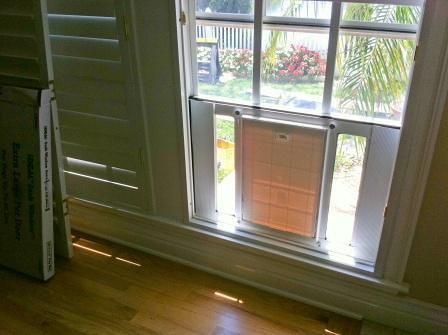 Wonderful Window Doggie Door From Inside | Window Doggie Door From Insu2026 | Flickr