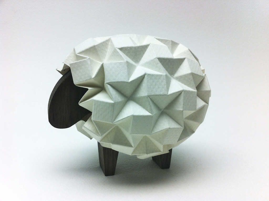 Sheep with Wooden Body | Just a little experiment with my ...