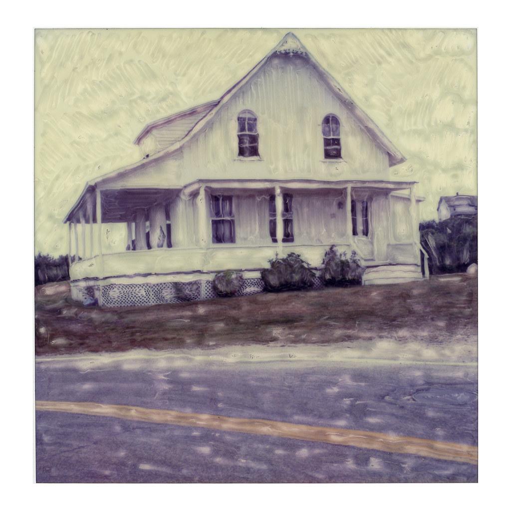Block island cottage manipulated polaroid richard for Block island cottage