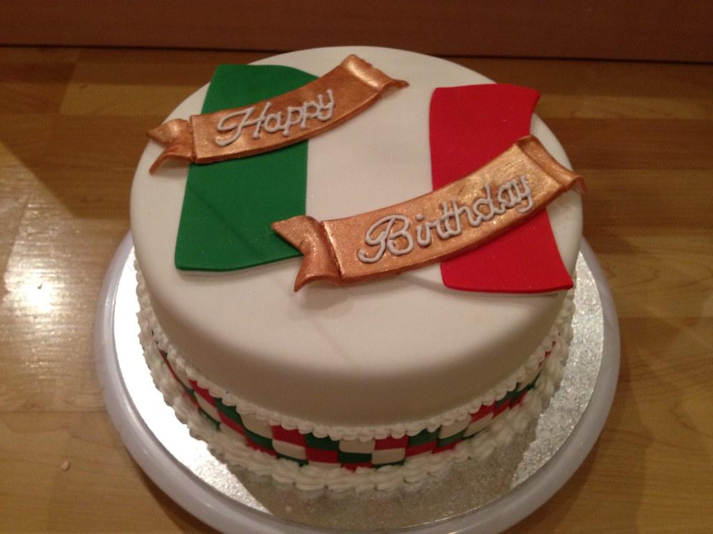 Italian Flag Cake Recipe