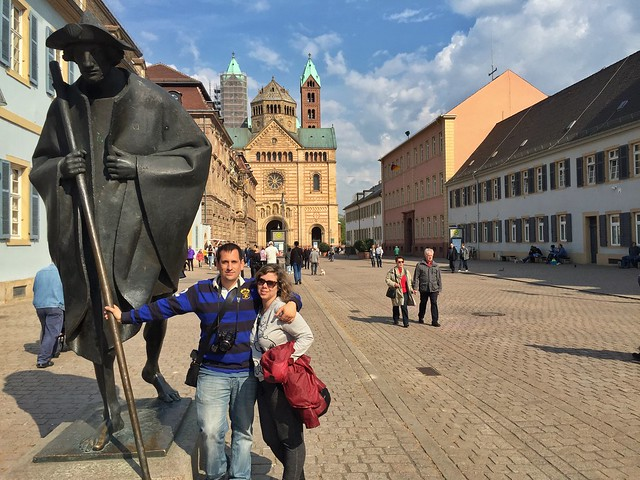 Rebeca y Sele en Speyer (Alemania)