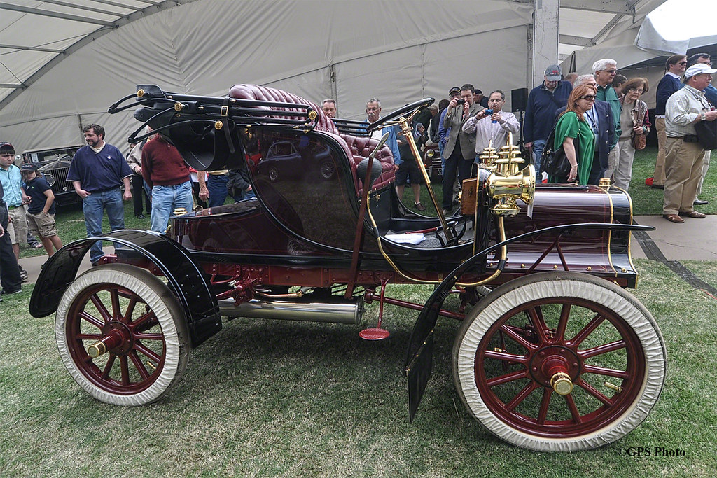 1906 Cadillac Model K: 1906 Cadillac Model K Runabout At Amelia Island 2012