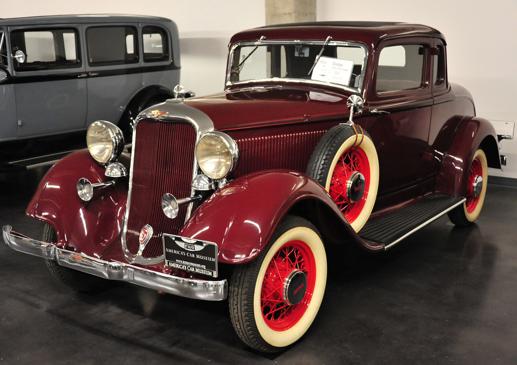 1933 Dodge RS 2dr - coupe   Two exterior horn trumpets mirro…   Flickr