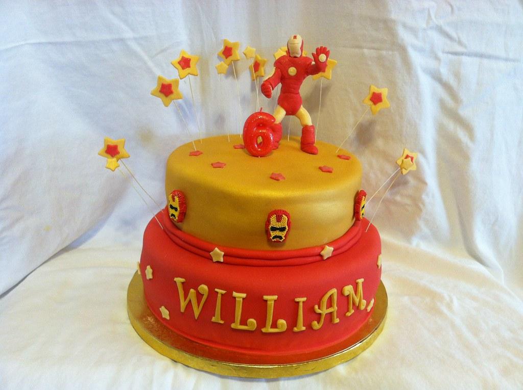 Cake Decorating Iron Man : Iron Man Cake faby Flickr
