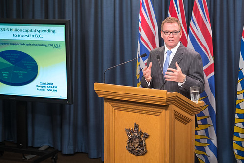 Prudent fiscal management key to reducing deficit | by BC Gov Photos