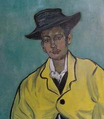 Frank Justin Gonski Art Van gogh man with hat