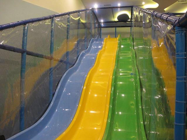 Indoor playground slide flickr photo sharing for Indoor play slide