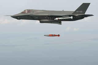 F-35B conducts its first aerial weapons release. | by Official U.S. Navy Imagery