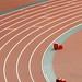 Women's Javelin and 200m winners
