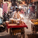 Central Market, Jodhpur, Rajasthan State, India.