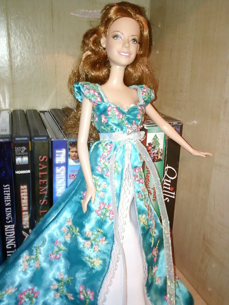 Enchanted Giselle Doll Custom Ooak My Handmade Dress For
