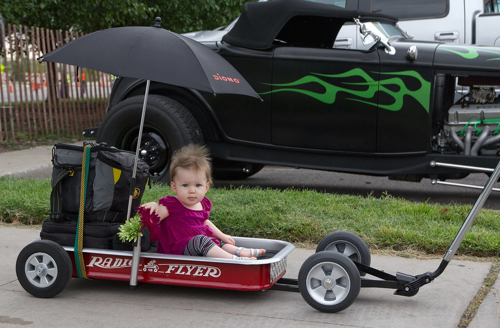 Custom Kids Wagon Blacktop Nationals Car Show Blacktop
