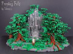 Prenwaig Falls by Toltomeja