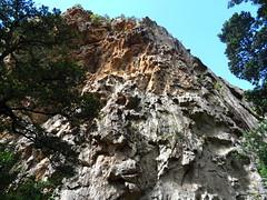 Muraille RD de la brèche du Carciara d'Aragali