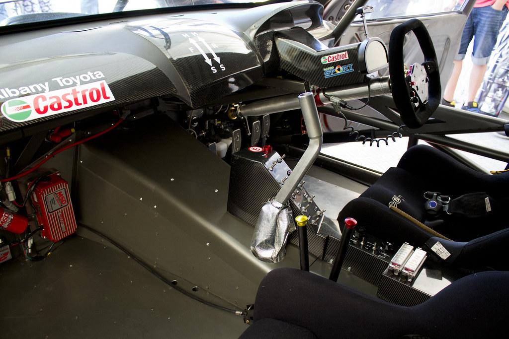 ford v8 race car interior mike reader flickr. Black Bedroom Furniture Sets. Home Design Ideas
