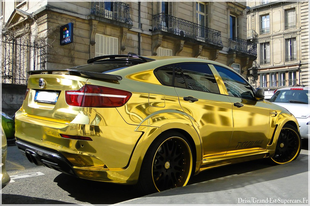 Bmw X6 Hamann Tycoon Evo M Gold G E Supercars Flickr