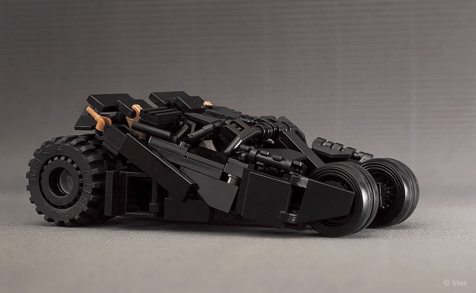 batman lego tumbler v 2 second version of my minifig scale flickr. Black Bedroom Furniture Sets. Home Design Ideas