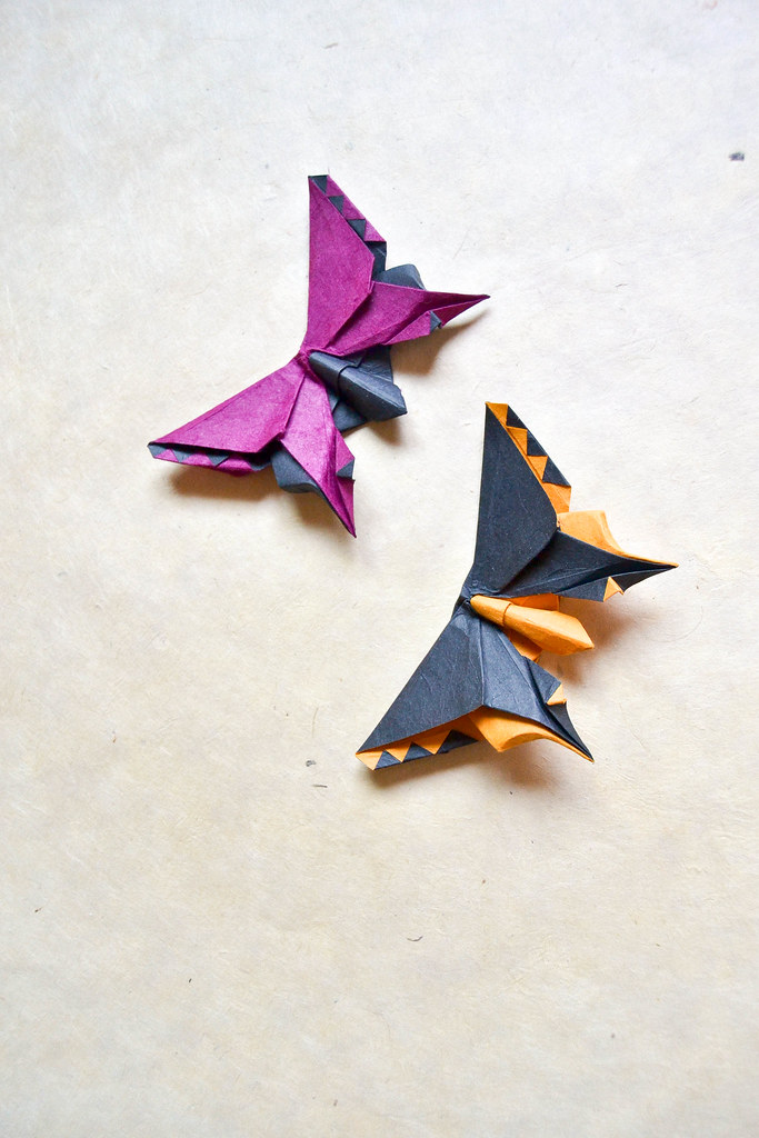 Origami Butterfly for Yamaguchi - Michael Lafosse ... - photo#11