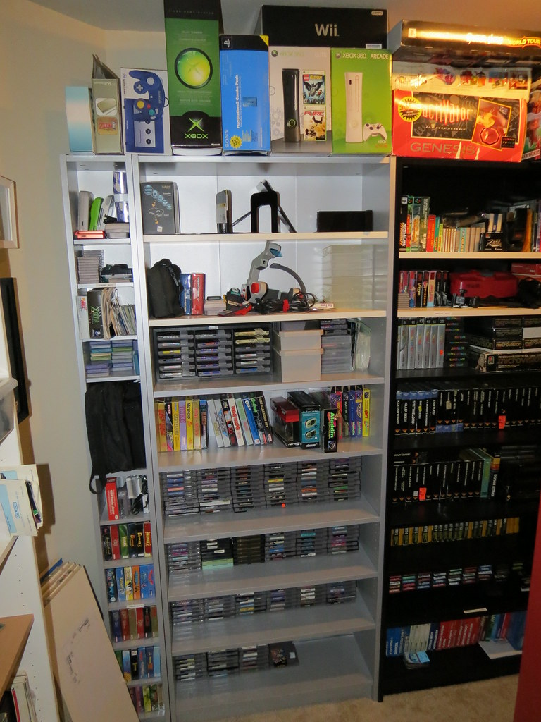 Video Game Room | NES And Game Boy | Thomas Schrantz | Flickr