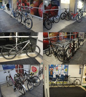 Lack of bike-racks at Tesco | by teddingtontown