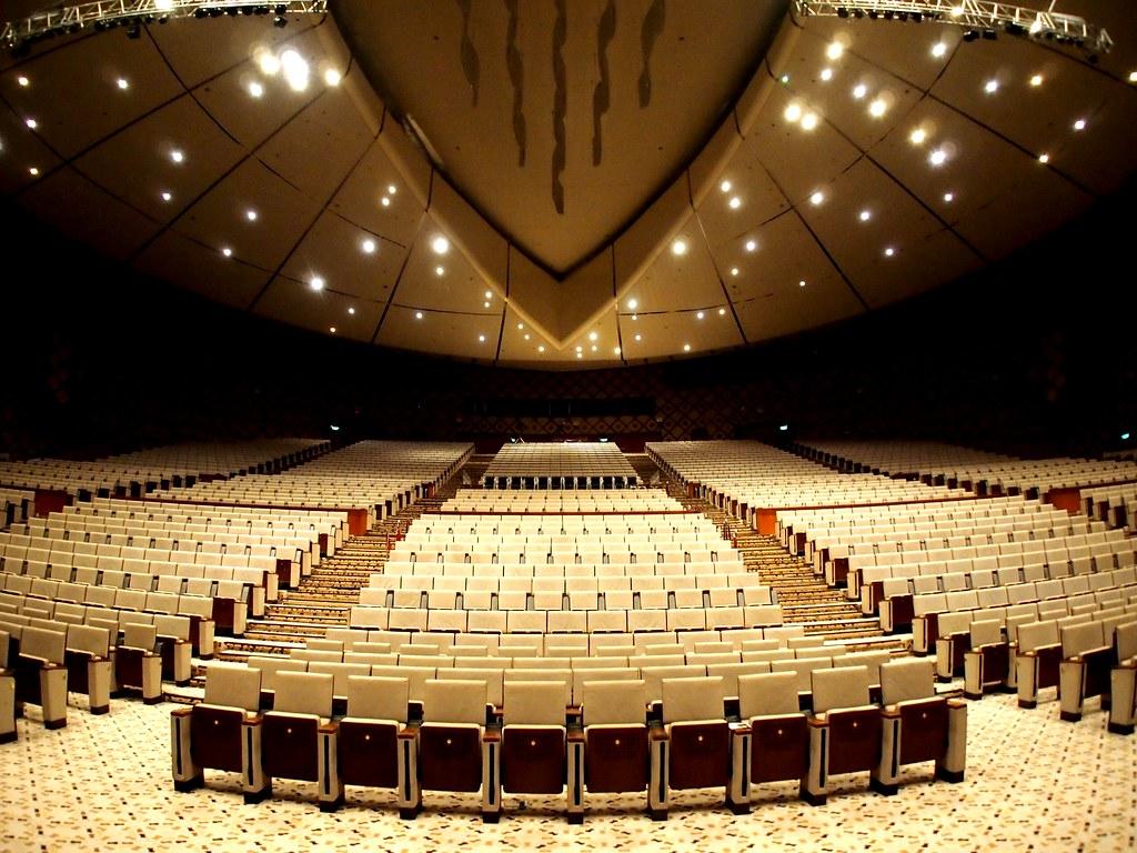 Create 3d Floor Plan The Plenary Hall Of The Putrajaya International Convention